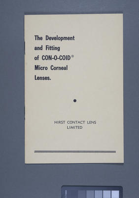 The development and fitting of Con-O-Coid micro corneal lenses.