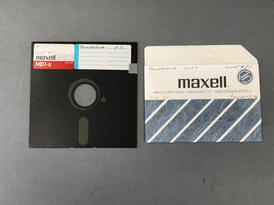 Floppy Disk [Commodore 64 Game Thunderblade Part 2]