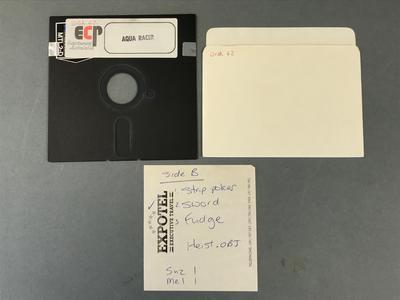 Floppy Disk [Aqua Racer]