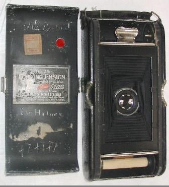 Camera - 2½ Folding Ensign