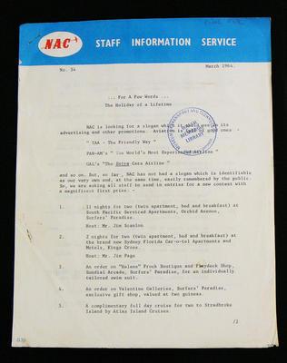 NAC staff information service