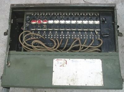 Switch Board - Army Field