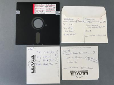 Floppy Disk [Compilation of Commodore 64 Games]