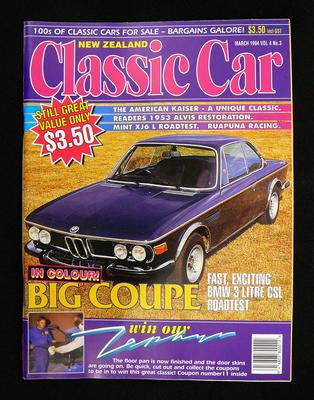 New Zealand Classic Car