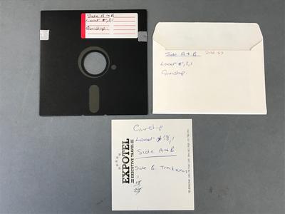 Floppy Disk [Commodore 64 Game: Gunship]