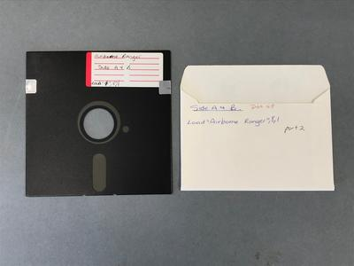 Floppy Disk [Commodore 64 Game: Airborne Ranger]