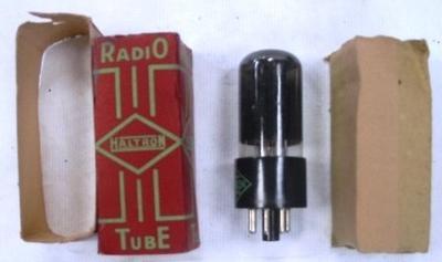 Valve - Radio Haltron Tube