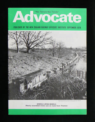 New Zealand railway officers advocate