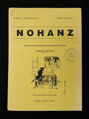 NOHANZ newsletter