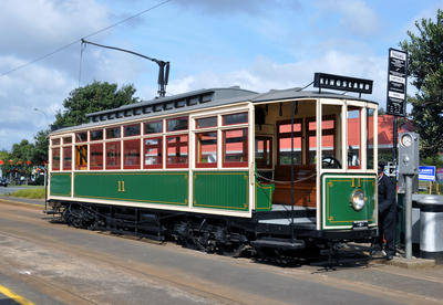 Tram [No.11 (B Type 'Combo')]; Brush Electrical Engineering Company Limited; Auckland Electric Tramways Company Limited; 1902