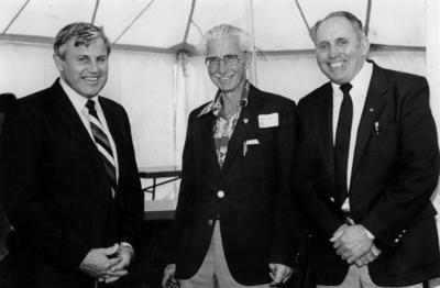 Portraits : MOTAT Directors, Jameson, Hogan and Richardson