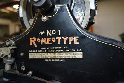 Duplicator [The No. 1 Roneotype]