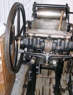 Art Platen Printing Press [Phoenix Presse]