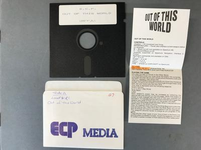 Floppy Disk [Commodore 64 Game: Out of This World]