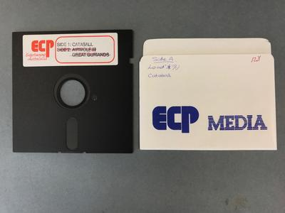 Floppy Disk [Commodore 64 Game: Cataball]