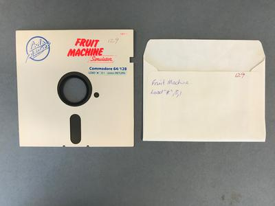 Floppy Disk [Commodore 64 Game: Fruit Machine]