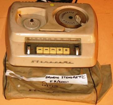 Dictating Machine [Grundig]