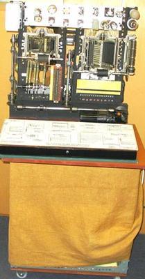 Model [Rotary Telephone Exchange]