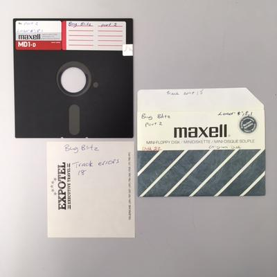 """Floppy Disk [Game for Commodore 64: """"Bug Blitz""""]"""