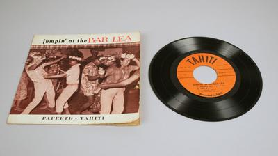 Phonograph Record [Jumping at the Bar Lea (45 rpm)]