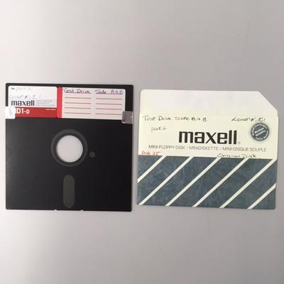 """Floppy Disk [Game for Commodore 64: """"Test Drive""""]"""