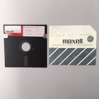 """Floppy Disk [Game for Commodore 64: """"The last Ninja II""""]"""