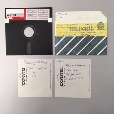 Floppy Disk [Compilation of Games for Commodore 64]