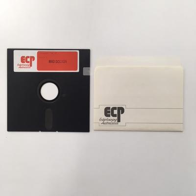 """Floppy Disk  [Game for Commodore 64: """"MAD DOCTOR""""]"""