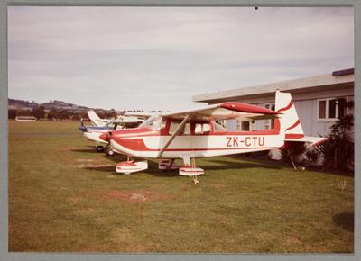 ZK-CTU Aero Commander 100 5.6.83 Ardmore