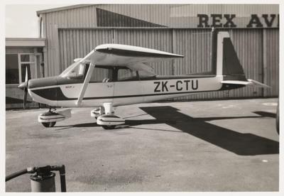 [ZK-CTU Aero Commander 100 16.10.71 Ardmore photograph]