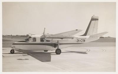 [ZK-CTM Aero Commander 500A]