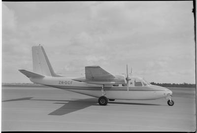 DCF 9.11.71 Chch [ZK-DCF Aero Commander 500A]