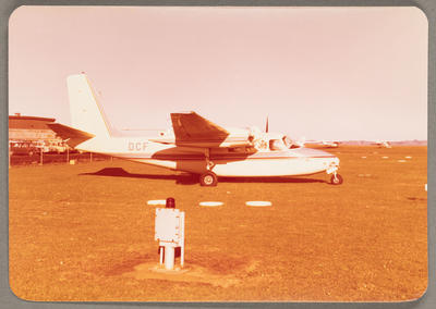 Aero Commander 500A ZK-DCF 14.5.77 Auckland Airport