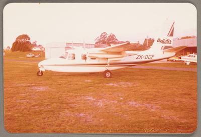 ZK-DCF Aero Commander 500A 14.10.81 Rotorua