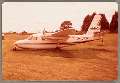ZK-DCF Aero Commander 500A 23.10.81 Rotorua