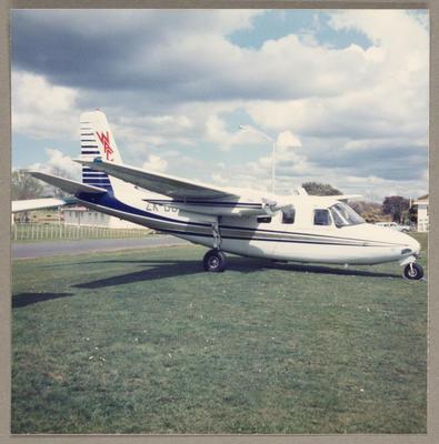 ZK-DCF Aero Commander 500 21.9.85 Ardmore