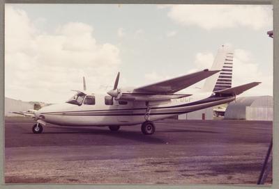 ZK-DCF Aero Commander 500A 8.1.85 Ardmore