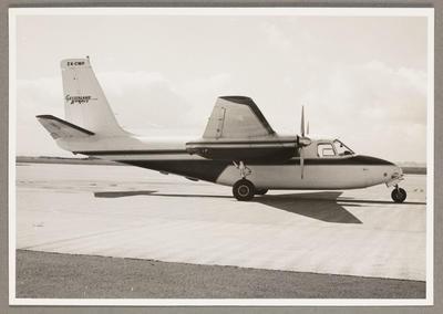 Auckland International Airport 16-11-68 [CWP Aero Commander 500]