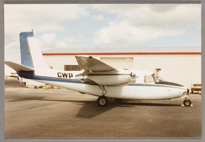 ZK-CWP Aero Commander 500 26.12.86 Ardmore