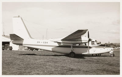 ZK-CDF Aero Commander 680F
