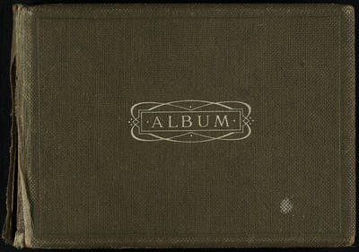Photograph album belonging to A. G. Taylor, containing photographs of rural scenes (Mangatea), sailing, scows and the Walsh Brothers Flying School, including planes and pilots, some named