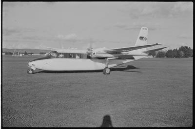 29 7.4.71 Ardmore [ ZK-DBQ Aero Commander 680FL]