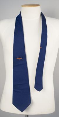 Uniform Necktie [IATA, Annual General Meeting 1973]; Parisian Neckwear Company Limited; International Air Transport Association; 1973