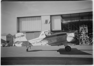 [Aerial Sowing LTD  ZK-CPL Aero Commander Snow S2-D 600 negative]