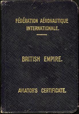 Aviator's Certificate