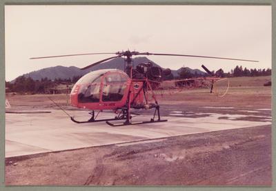 ZK-HDX Aerospatiale SA 315B Lama 26.3.83 Taupo