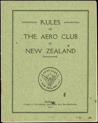 Aero Club rules