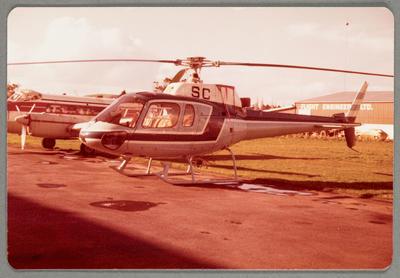 ZK-HSC Aerospatiale AS350B 20.8.81 Ardmore