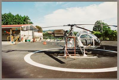 ZK-HSK Aerospatiale SA315B Lama 16.1.94 Ardmore NEG BK 15