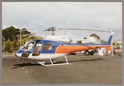 ZK-HWV Aerospatiale AS350B Mechanics Bay